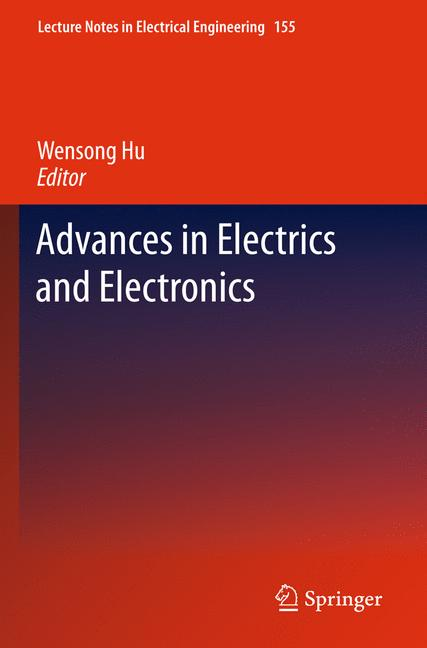 Cover of 'Advances in Electric and Electronics'