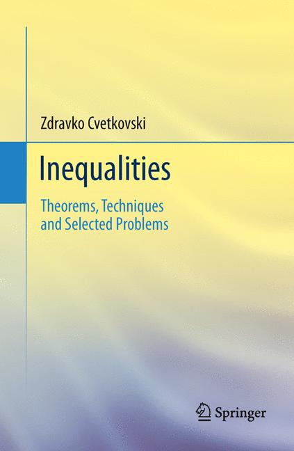 Cover of 'Inequalities'