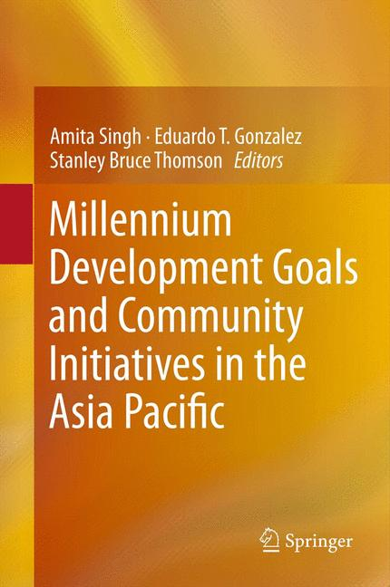 Cover of 'Millennium Development Goals and Community Initiatives in the Asia Pacific'