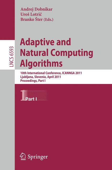 Cover of 'Adaptive and Natural Computing Algorithms'