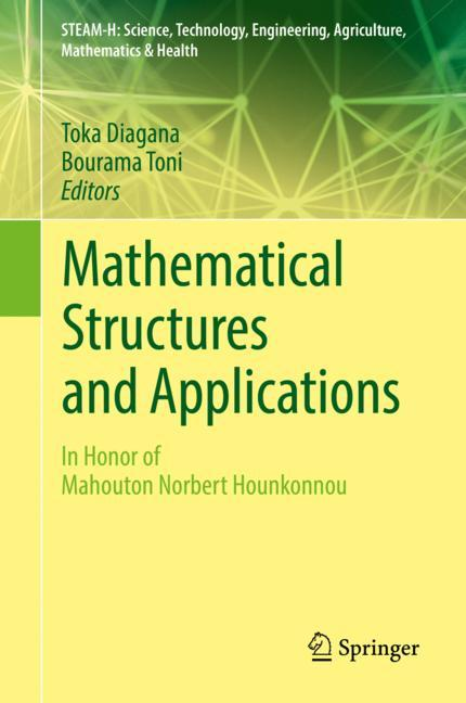 Cover of 'Mathematical Structures and Applications'