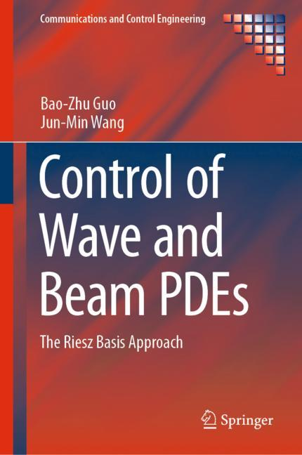 Cover of 'Control of Wave and Beam PDEs'