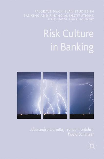 Cover of 'Risk Culture in Banking'