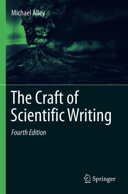 Cover of 'The Craft of Scientific Writing'