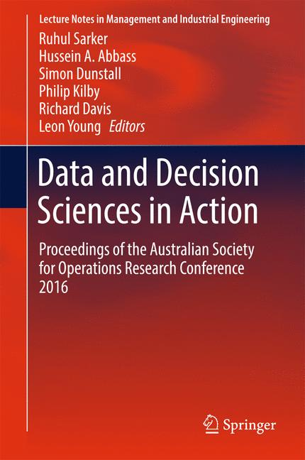 Cover of 'Data and Decision Sciences in Action'