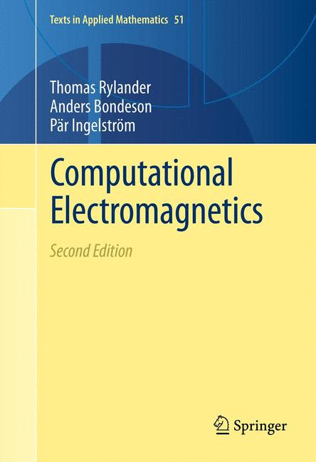 Cover of 'Computational Electromagnetics'