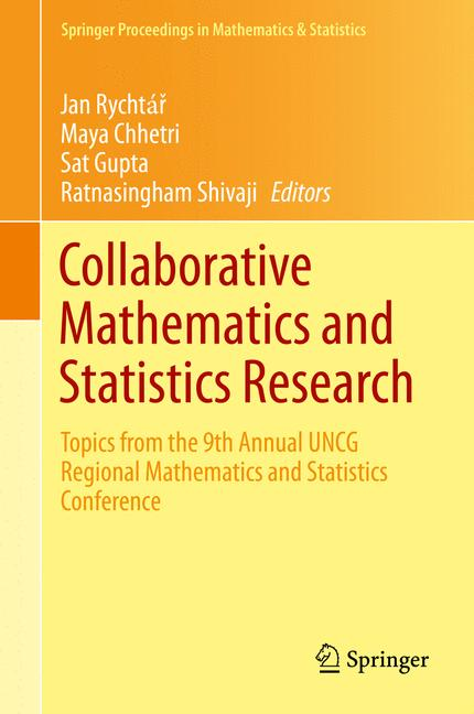 Cover of 'Collaborative Mathematics and Statistics Research'