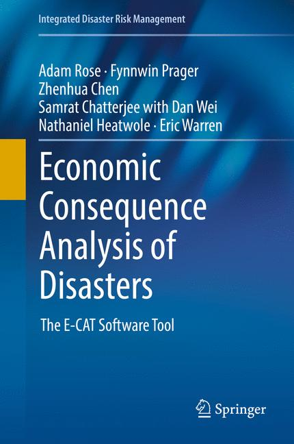 Cover of 'Economic Consequence Analysis of Disasters'