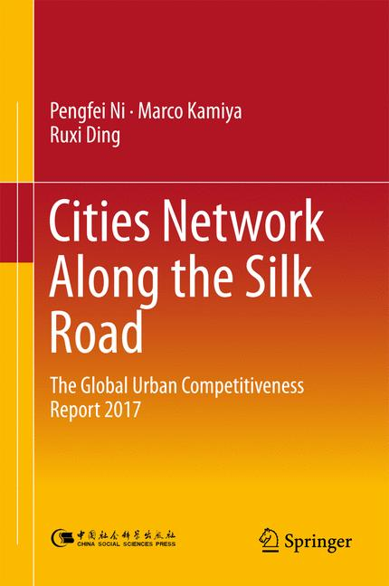 Cover of 'Cities Network Along the Silk Road'