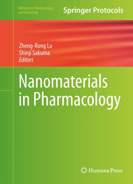 Cover of 'Nanomaterials in Pharmacology'