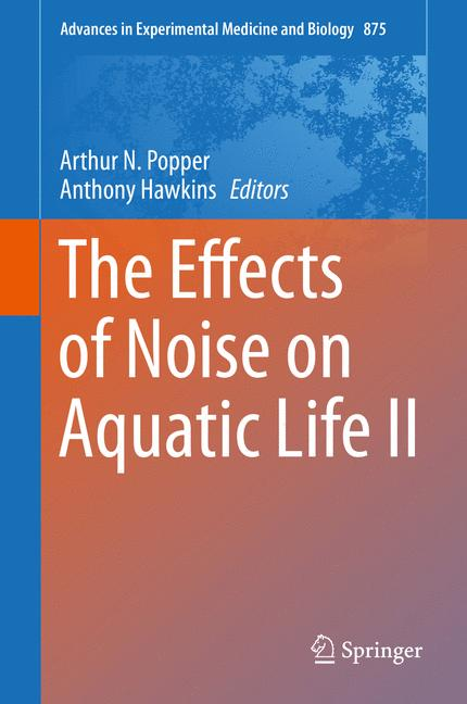 Cover of 'The Effects of Noise on Aquatic Life II'