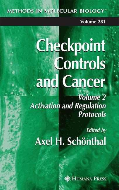 Cover of 'Checkpoint Controls and Cancer'