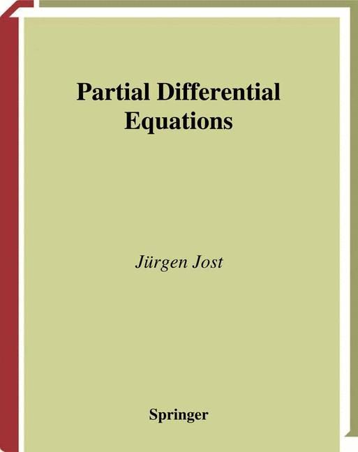 Cover of 'Partial Differential Equations'