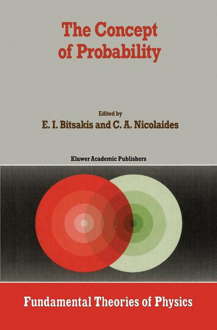 Cover of 'The Concept of Probability'