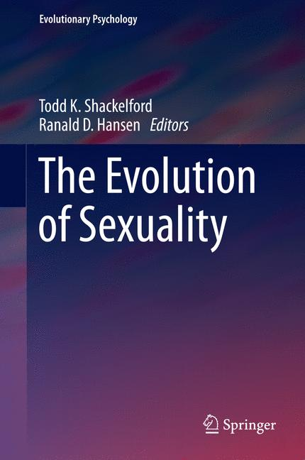Cover of 'The Evolution of Sexuality'