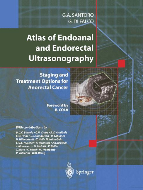 Cover of 'Atlas of Endoanal and Endorectal Ultrasonography'