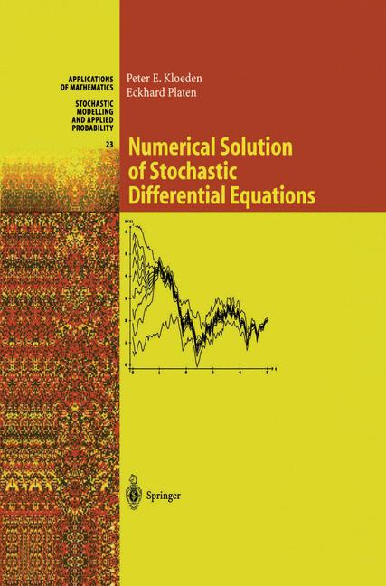 Cover of 'Numerical Solution of Stochastic Differential Equations'
