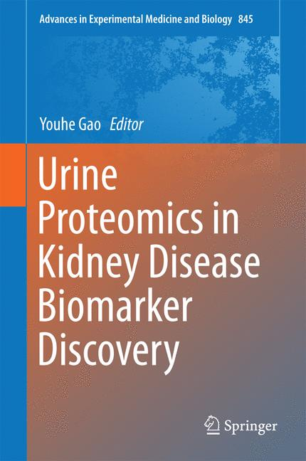 Cover of 'Urine Proteomics in Kidney Disease Biomarker Discovery'