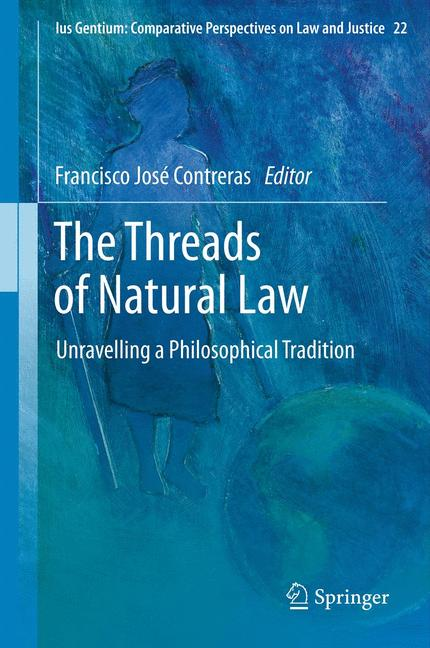 Cover of 'The Threads of Natural Law'