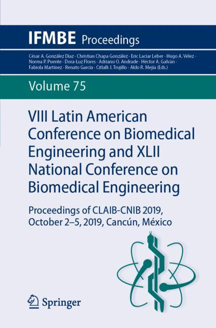 Cover of 'VIII Latin American Conference on Biomedical Engineering and XLII National Conference on Biomedical Engineering'