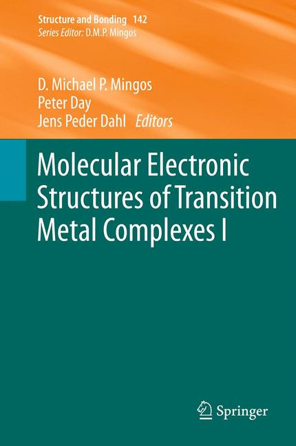 Cover of 'Molecular Electronic Structures of Transition Metal Complexes I'