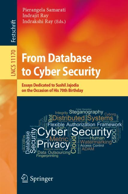 Cover of 'From Database to Cyber Security'