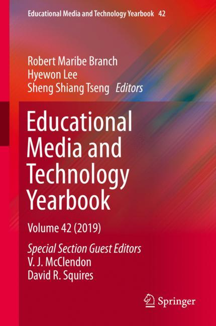 Cover of 'Educational Media and Technology Yearbook'