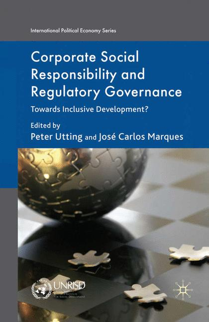 Cover of 'Corporate Social Responsibility and Regulatory Governance'