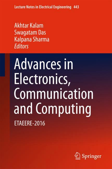 Cover of 'Advances in Electronics, Communication and Computing'