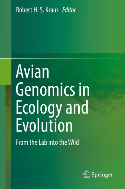 Cover of 'Avian Genomics in Ecology and Evolution'