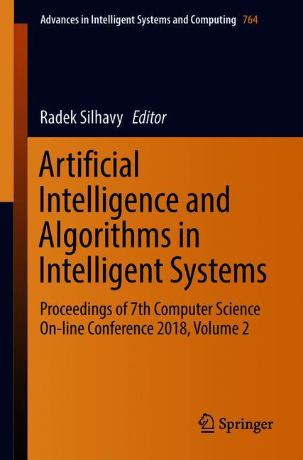 Cover of 'Artificial Intelligence and Algorithms in Intelligent Systems'