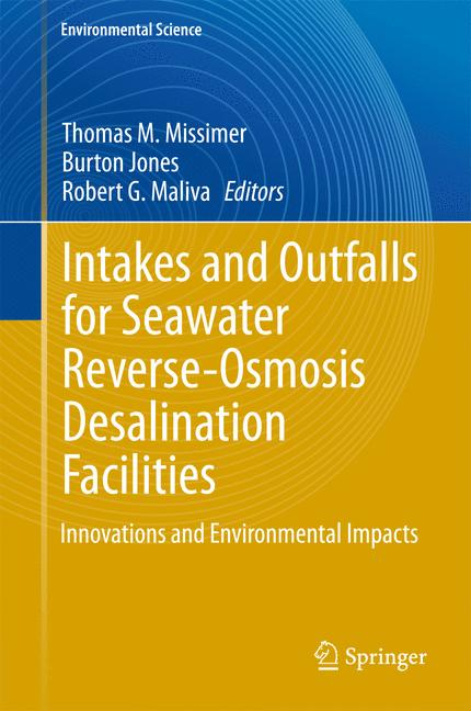 Cover of 'Intakes and Outfalls for Seawater Reverse-Osmosis Desalination Facilities'
