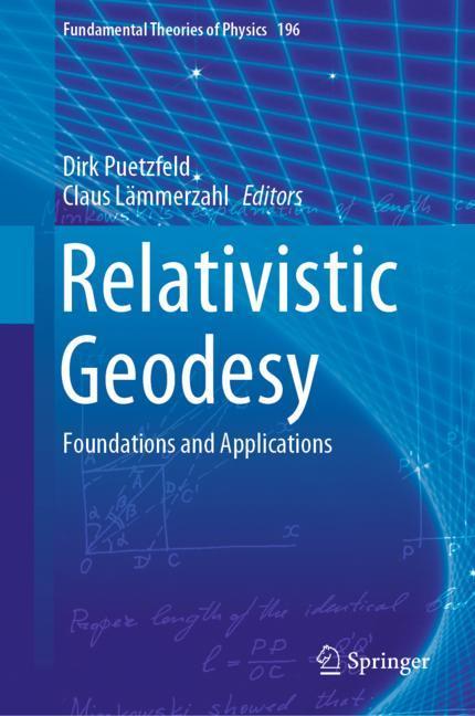 Cover of 'Relativistic Geodesy'