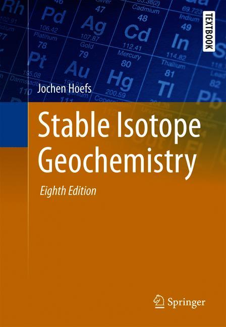 Cover of 'Stable Isotope Geochemistry'