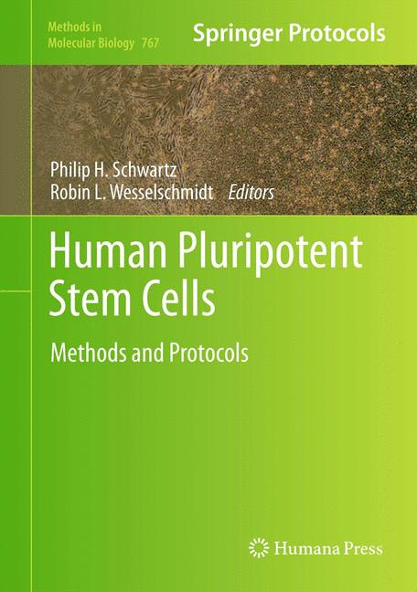 Cover of 'Human Pluripotent Stem Cells'