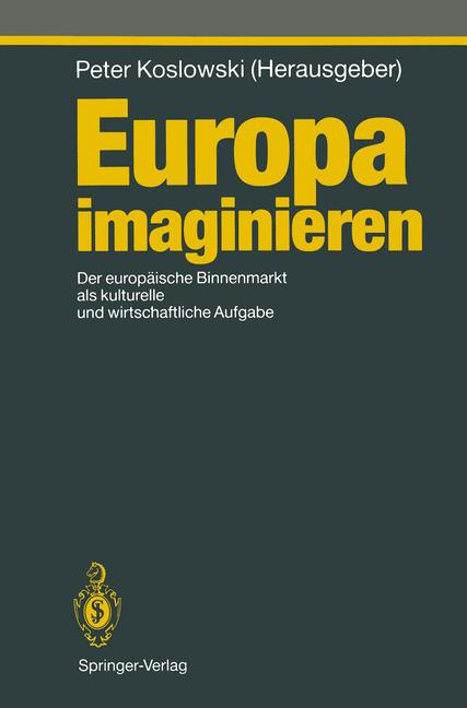 Cover of 'Europa imaginieren'