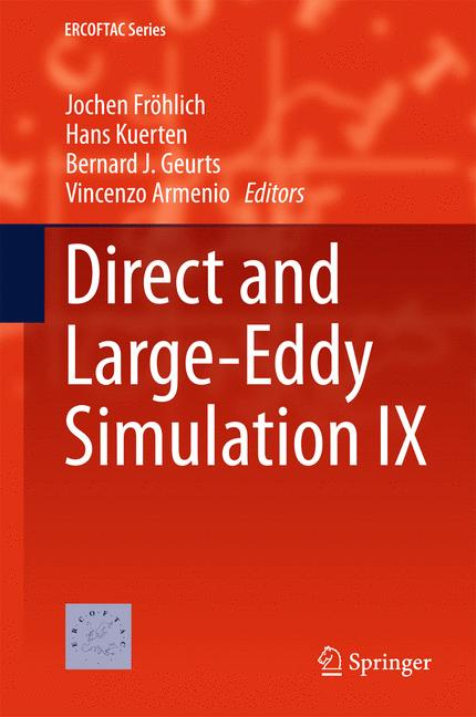 Cover of 'Direct and Large-Eddy Simulation IX'