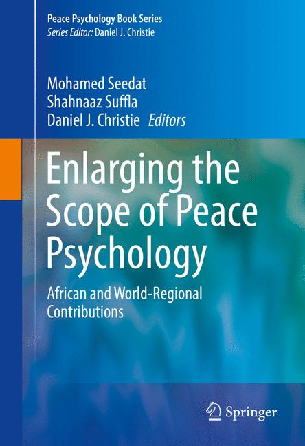 Cover of 'Enlarging the Scope of Peace Psychology'