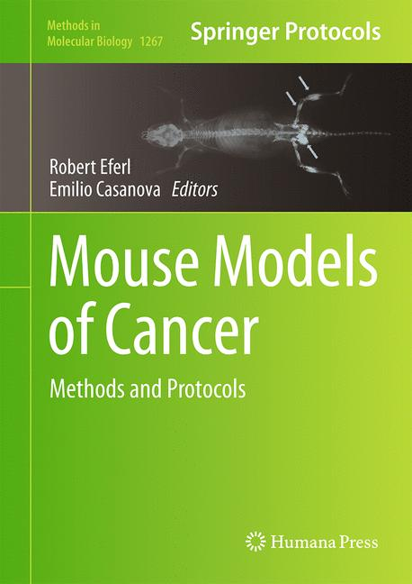 Cover of 'Mouse Models of Cancer'