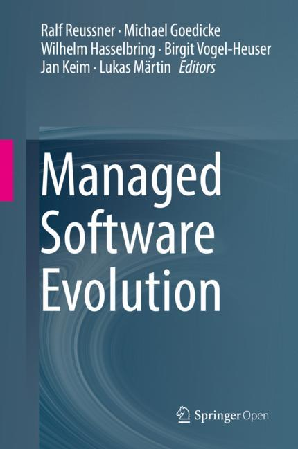 Cover of 'Managed Software Evolution'