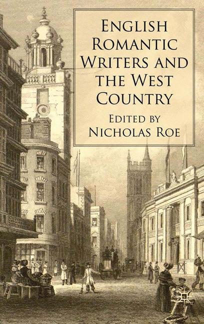 Cover of 'English Romantic Writers and the West Country'