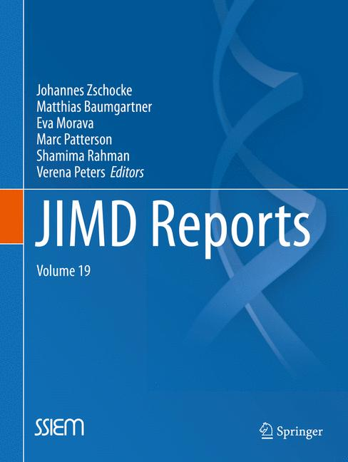 Cover of 'JIMD Reports, Volume 19'