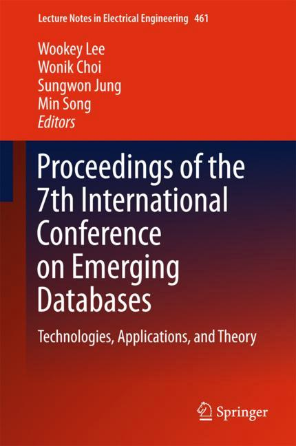 Cover of 'Proceedings of the 7th International Conference on Emerging Databases'