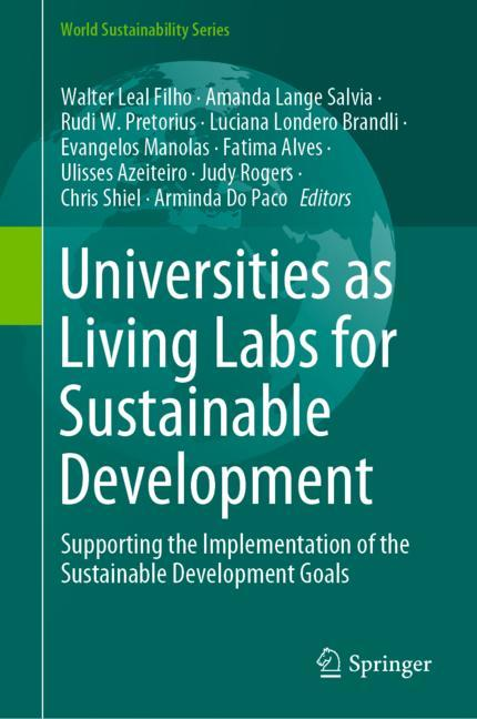 Cover of 'Universities as Living Labs for Sustainable Development'