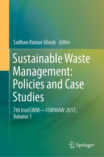 Cover of 'Sustainable Waste Management: Policies and Case Studies'