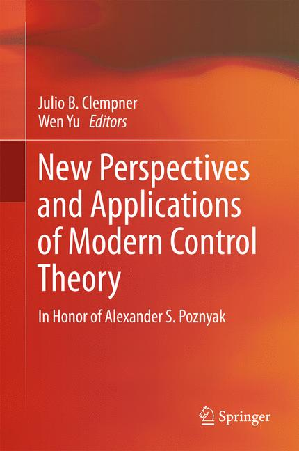 Cover of 'New Perspectives and Applications of Modern Control Theory'