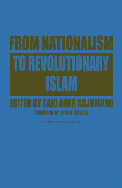 Cover of 'From Nationalism to Revolutionary Islam'