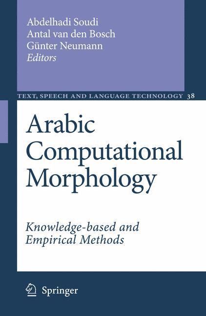 Cover of 'Arabic Computational Morphology'