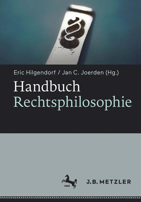 Cover of 'Handbuch Rechtsphilosophie'