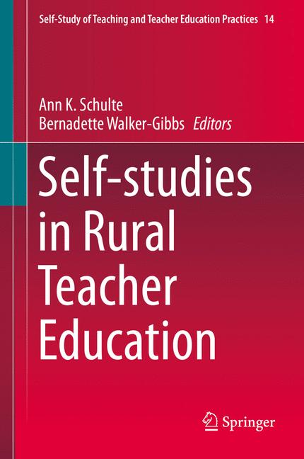 Cover of 'Self-studies in Rural Teacher Education'